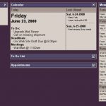 Intranet Prototype from 2000